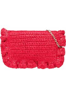 Red(V) Red(V) Woven Crossbody Bag - Rosa
