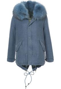 Mr & Mrs Italy London Mist Jacket - Azul
