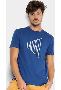 Camiseta Lacoste Logo Masculina - Masculino