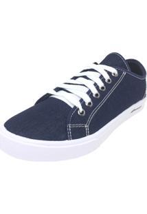 Tênis Sawary Liso Jeans