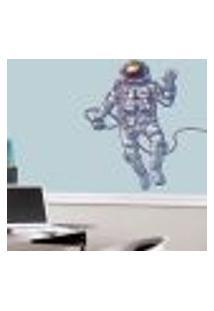 Adesivo De Parede Astronauta Espacial - Eg 98X92Cm