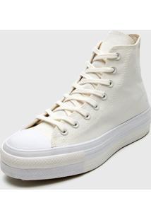 Tênis Flatform Converse Chuck Taylor All Star Lift Off-White - Kanui