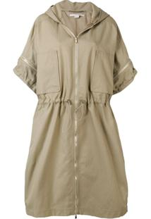 Stella Mccartney Parka Blake - Neutro