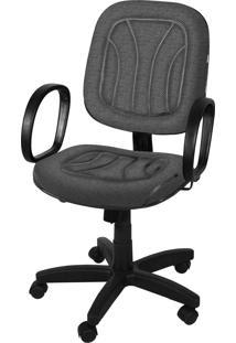 Cadeira Diretor Base Giratória Gás C/ Br