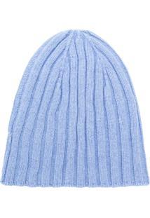 58e2d5a323c4e ... Cenere Gb Gorro Em Cashmere - Azul