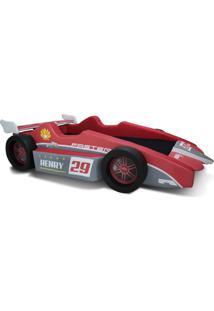 Cama Carro F3 Vermelho - Vermelho - Dafiti