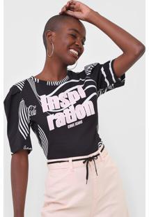 Camiseta Coca-Cola Jeans Inspiration Preta - Preto - Feminino - Algodã£O - Dafiti
