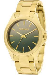Relógio Technos Trend Feminino Analógico - 2035Mcv/4V 2035Mcv/4V - Feminino-Dourado