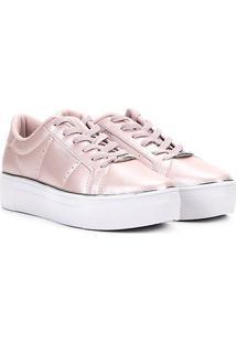41662bdd63b Tênis Metalizado Rosa feminino