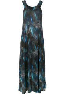 Lygia & Nanny Printed Manati Dress - Azul