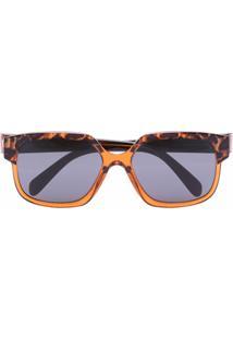 Celine Eyewear Óculos De Sol Maillons Triomphe 02 Marrom