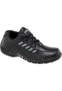 Sapatênis De Couro Tchwm Shoes Com Solado Em Borracha - Masculino