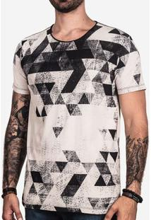 Camiseta Triangles 100877