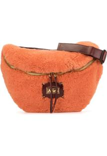 Aries Oversized Belt Bag - Laranja