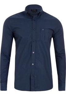 Camisa Premium Slim Fit Marinho