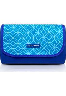 Tapete Piquenique Impermeável Jacki Design Dobrável Azul