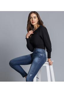 Calça Skinny Bali Cropped Every Day Jeans - Lez A Lez