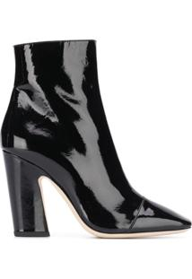 Jimmy Choo Ankle Boot 'Mirren 100' - Preto