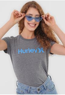 Camiseta Hurley One&Only Cinza
