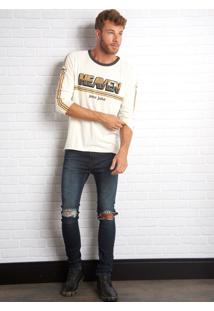 Calça John John Super Skinny Kendal Jeans Azul Masculina Cc Super Skinny Kendal-Jeans Escuro-46