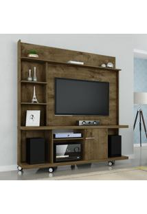 Estante Home Móveis Bechara Taurus Tv Até 47 Pol 1 Porta Rústico