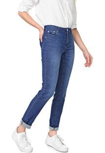 Calça Jeans Lacoste Skinny Denim Azul