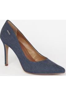 Scarpin Jeans- Azul Escuro- Salto: 10Cmmorena Rosa