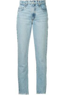 Nobody Denim Calça Jeans Bessette Cuffed - Azul