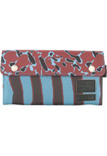 Marni Carteira Continental Animal Print - Estampado
