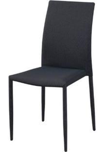 Cadeira Amanda 6606 Tecido Cinza Com Preto - 32876 - Sun House