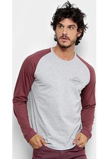 Camiseta Quiksilver Especial Manga Longa Search Masculina - Masculino