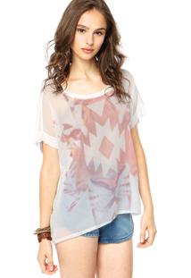 Blusa Billabong Look Off White