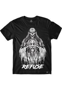 Camiseta Refuse Reaper - Preta