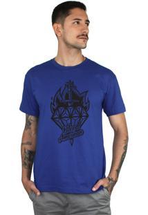 Camiseta Bleed American Diamond Royal