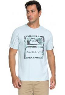 Camiseta Quiksilver Tiger Tracks Azul Masculina - Masculino