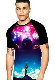 Camiseta Stompy Raglan Modelo 03 Masculina - Masculino
