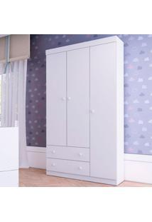 Guarda Roupa 2685 Bambolê – Multimóveis - Branco Premium