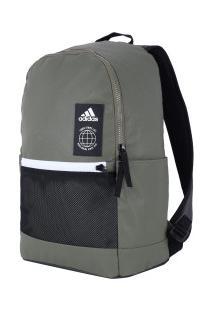 d0ec4610a ... Mochila Adidas Classic Urban - Verde Esc/Preto
