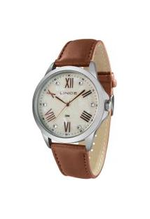 Relógio Analógico Lince Feminino - Lrcj082L B3Nx Prateado