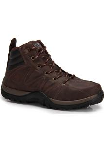 Bota Adventure Masculina Wonder - Marrom