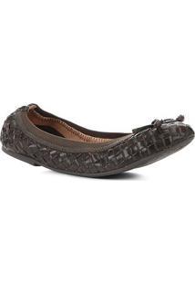 Sapatilha Shoestock Transpassada Feminina - Feminino-Musgo