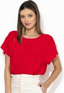 Blusa De Viscose Vermelha
