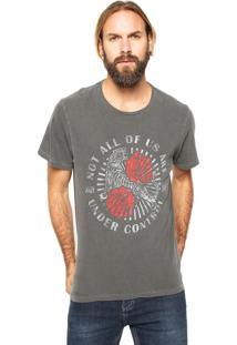 Camiseta John John Under Cinza