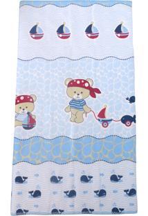 Cobertor Minasrey Filhotes Azul