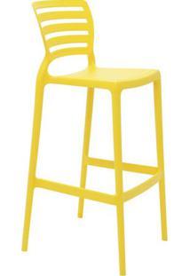 Cadeira Sofia- Amarela- 104X49,5X47Cm- Tramontintramontina