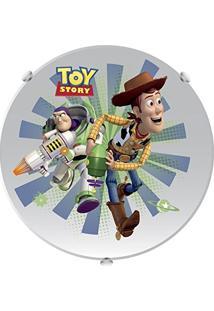 Plafon Redondo Toy Story 30Cm E27 40W Acrílico/Vidro Startec 145700023