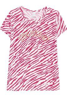 Blusa Lecimar Em Viscose Primavera Verão G3 Rosa