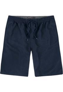 Shorts Básico Masculino Tradicional Em Tecido