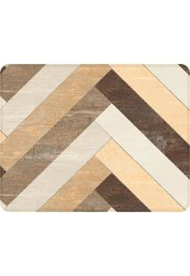 Tapete Sala Wevans Wood Único