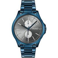 64207a4f290 Relógio Hugo Boss Masculino Aço Azul - 1530006